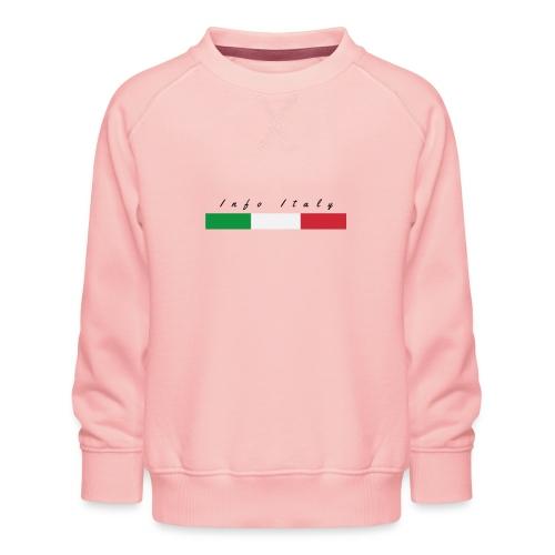 Info Italy Design - Felpa premium da bambini