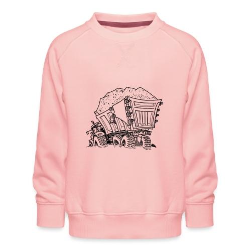 0956 trekker kar ZAND - Kinderen premium sweater