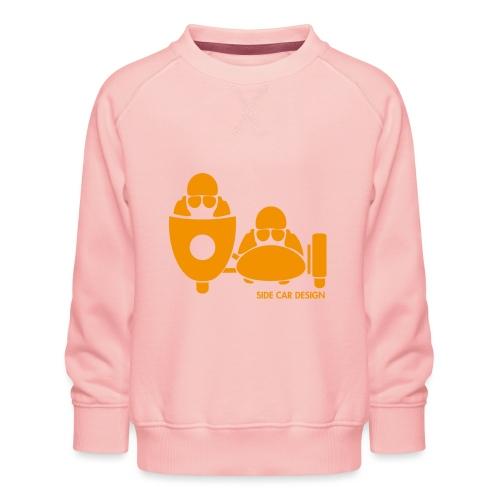 BASSET LOGO orange - Sweat ras-du-cou Premium Enfant