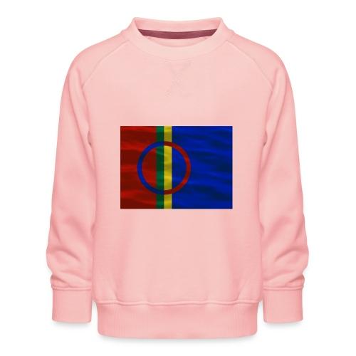 Sapmi flag - Premium-genser for barn