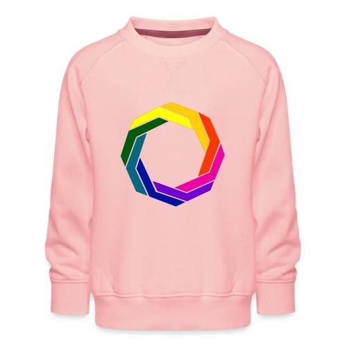 Verdrehter Ring 001 - Kinder Premium Pullover