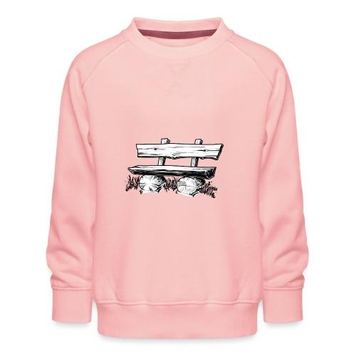995 Bank hout - Kinderen premium sweater