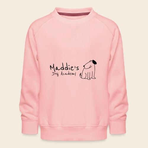 Académie des chiens de Maddie (noir) - Sweat ras-du-cou Premium Enfant