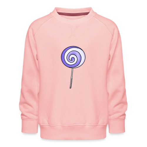 geringelter Lollipop - Kinder Premium Pullover