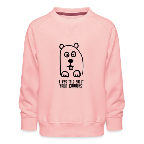 Woodchuck loves Cookies - Kinder Premium Pullover