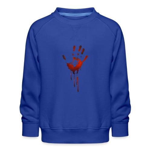 tænk dig om - Børne premium sweatshirt