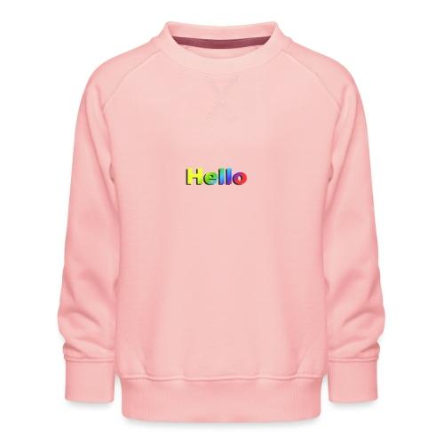 Hello - Bluza dziecięca Premium