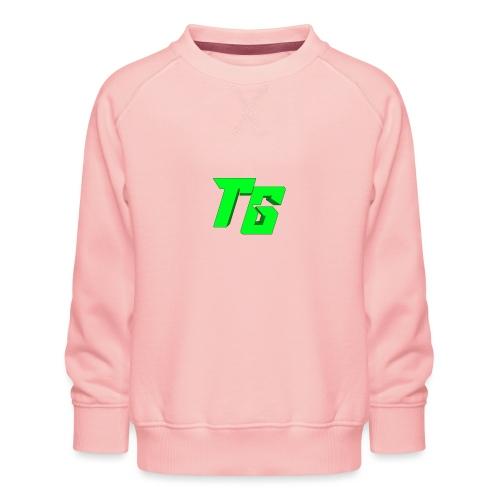 Tristan Jeux marchandises logo - Sweat ras-du-cou Premium Enfant
