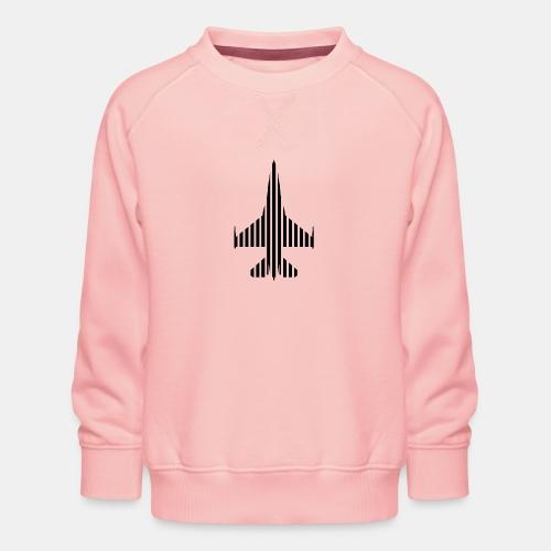 F-16 Viper / Fighting Falcon jet fighter / F16 - Kids' Premium Sweatshirt