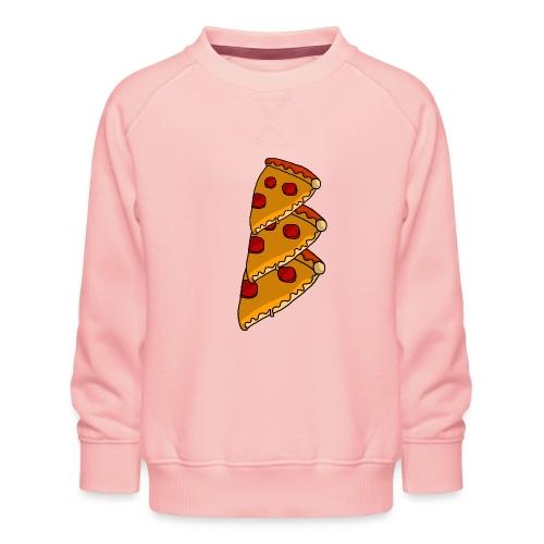 pizza - Børne premium sweatshirt