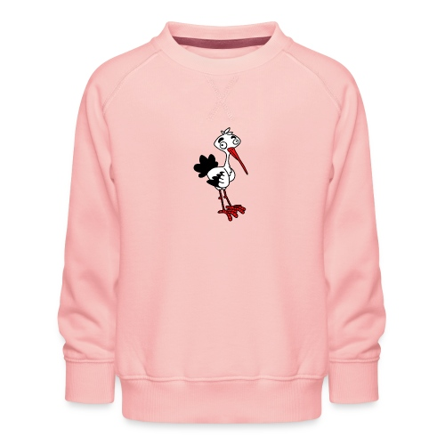 Storch von dodocomics - Kinder Premium Pullover
