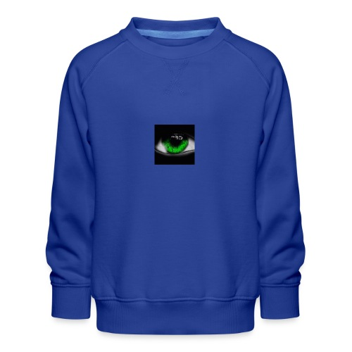 Green eye - Kids' Premium Sweatshirt