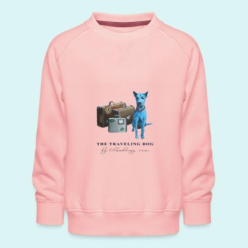 Laly Blue Big - Kids' Premium Sweatshirt