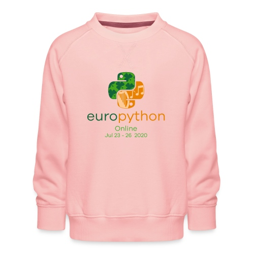 EuroPython 2020 - Vertical Color Logo - Kids' Premium Sweatshirt