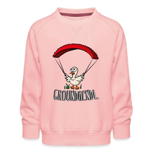 Groundhendl Paragliding Huhn - Kinder Premium Pullover