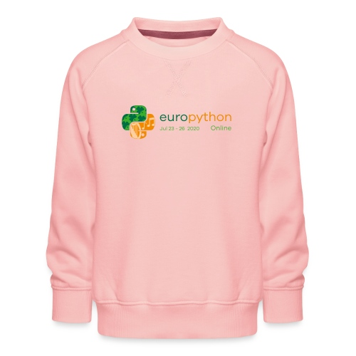 EuroPython 2020 - Color Logo - Kids' Premium Sweatshirt