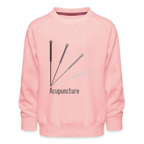 Acupuncture Eventail (logo noir) - Sweat ras-du-cou Premium Enfant