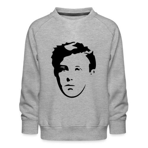 Arthur Rimbaud visage - Sweat ras-du-cou Premium Enfant
