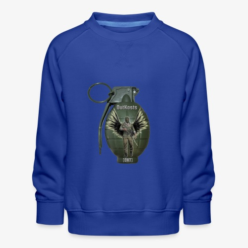 grenadearma3 png - Kids' Premium Sweatshirt
