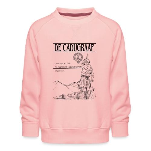 cadugraaf zwart - Kinderen premium sweater