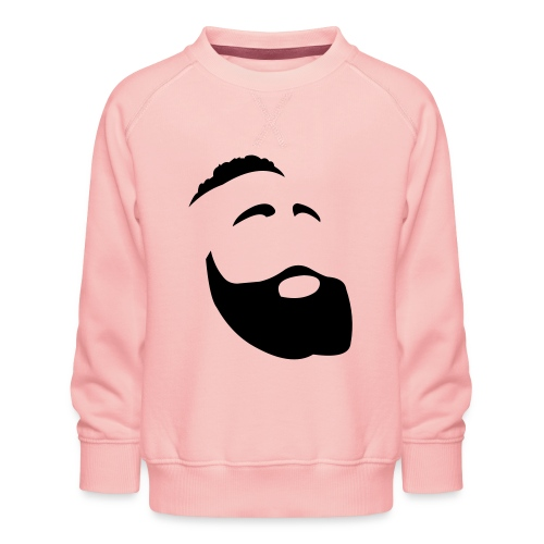 Il Barba, the Beard black - Felpa premium da bambini