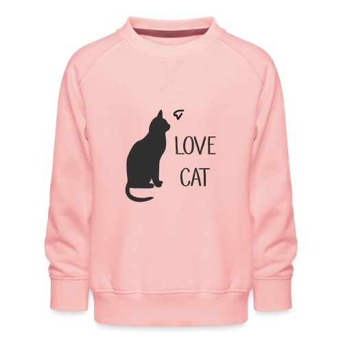 LOVE CAT - Kinder Premium Pullover