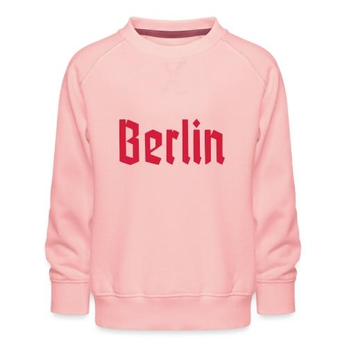 BERLIN Fraktur - Felpa premium da bambini