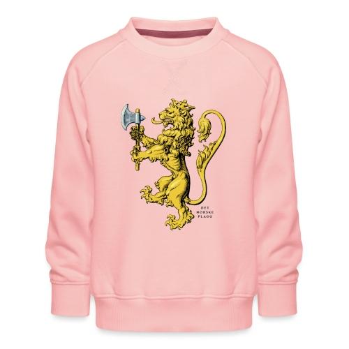 Den norske løve i gammel versjon - Premium-genser for barn