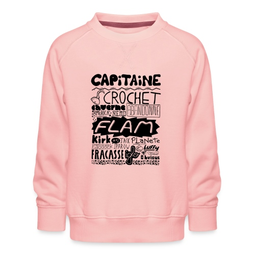 capitaine - Sweat ras-du-cou Premium Enfant