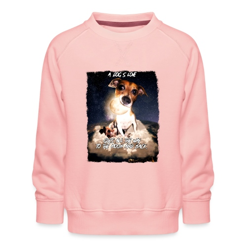 A dog's love - Kinderen premium sweater