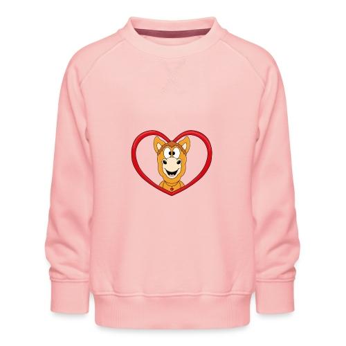 Lustiges Pferd - Pony - Herz - Liebe - Love - Fun - Kinder Premium Pullover