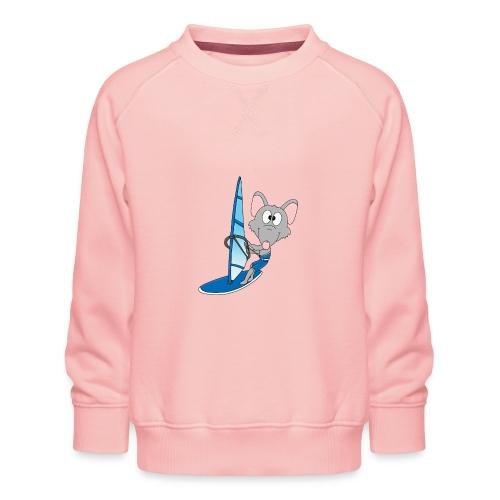 Lustige Wasserratte - Surfer - Windsurfer - Fun - Kinder Premium Pullover