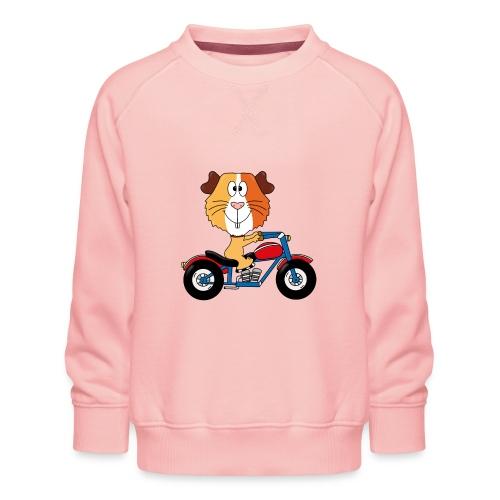 MEERSCHWEINCHEN - MOTORRAD - BIKER - MOTORSPORT - Kinder Premium Pullover