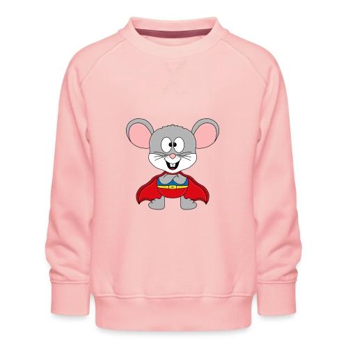 MAUS - SUPERHELD - TIER - KIND - BABY - FUN - Kinder Premium Pullover