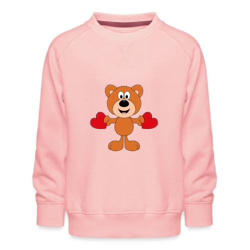 TEDDY - BÄR - LIEBE - LOVE - KIND - BABY - Kinder Premium Pullover