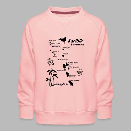 Karibik Leewards Segeln Leward Islands - Kinder Premium Pullover