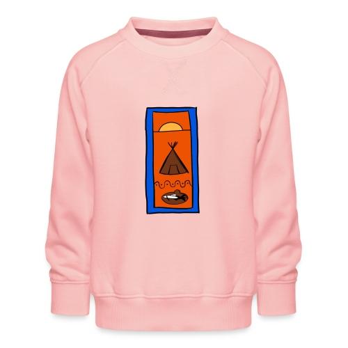 Samisk motiv - Premium-genser for barn