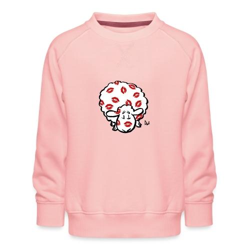 Kiss Ewe - Børne premium sweatshirt