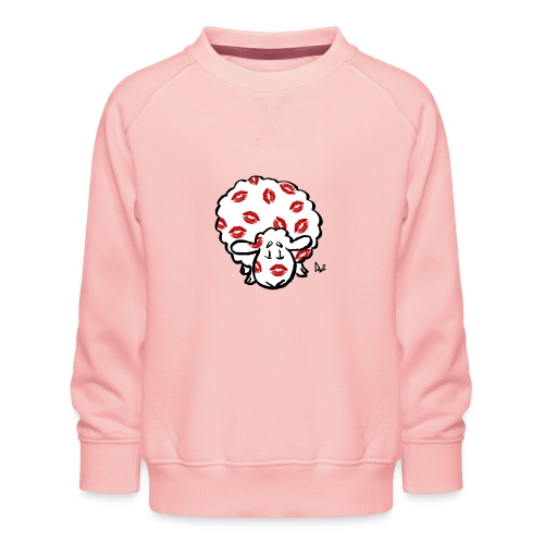 Kiss Ewe - Sweat ras-du-cou Premium Enfant