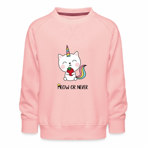 Meow or never - Kinder Premium Pullover