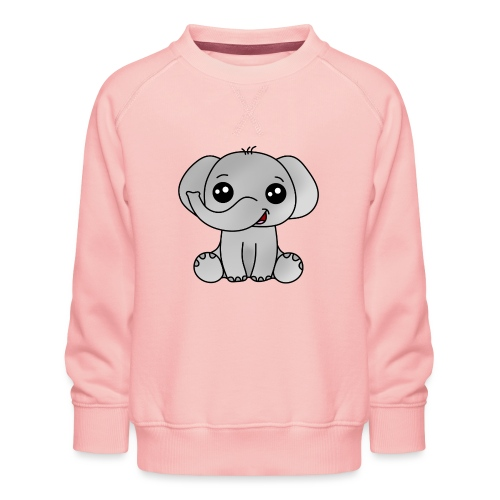 Elephant - Sudadera premium para niños y niñas