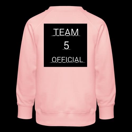 Team5 official 1st merchendise - Kids' Premium Sweatshirt