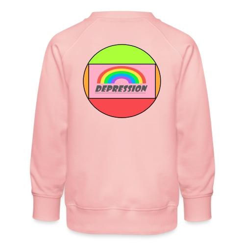 Depressed design - Kids' Premium Sweatshirt