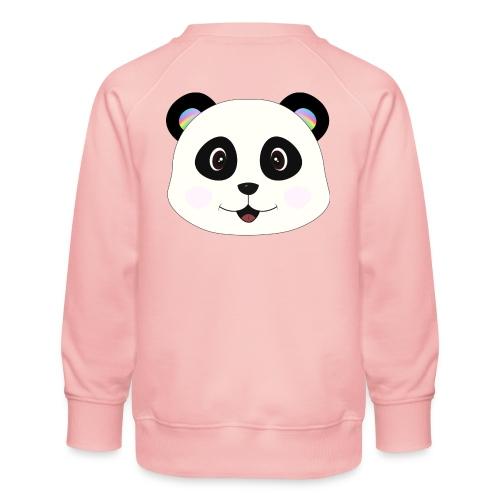 panda rainbow - Sudadera premium para niños y niñas