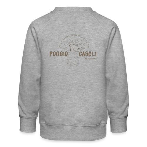 Poggio Casoli_Istituzionale - Felpa premium da bambini