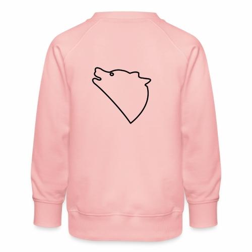 Wolf baul logo - Kinderen premium sweater