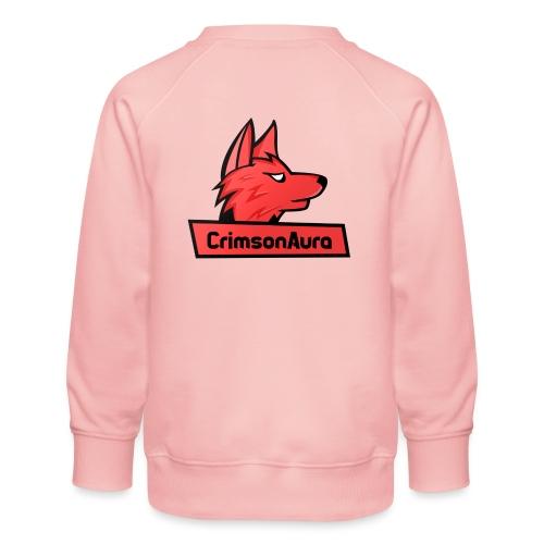 CrimsonAura Logo Merchandise - Kids' Premium Sweatshirt