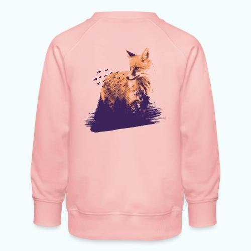 Fox Forest - Kids' Premium Sweatshirt