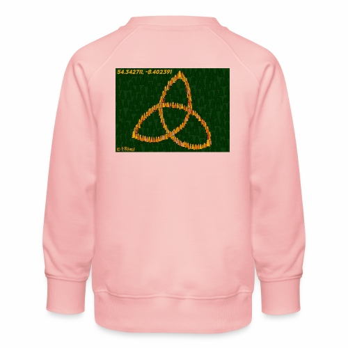 Trinity Knot design - Kids' Premium Sweatshirt