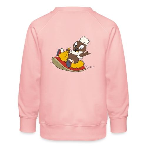 Pittiplatsch auf Pantoffel - Kinder Premium Pullover